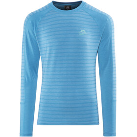 Mountain Equipment M's Redline LS Tee Alto Blue Stripe